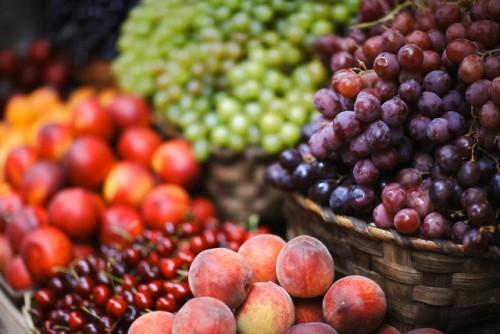Fruit on Market Stall