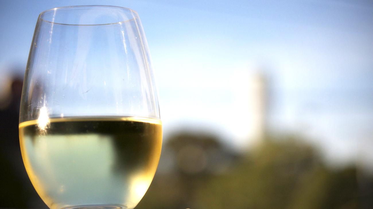 Bicchiere di Moscato