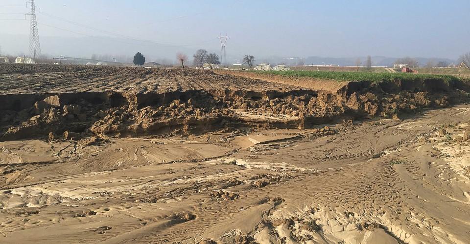 Ingenti i danni dell'alluvione alle aziende agricole della provincia di Cuneo