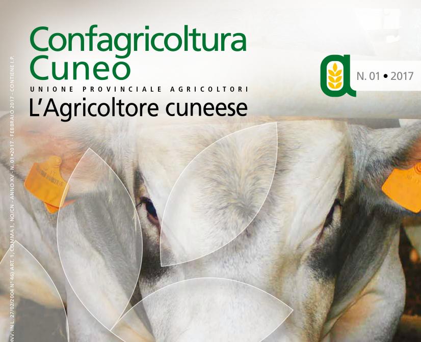 Copertina L'agricoltore cuneese 01/2017