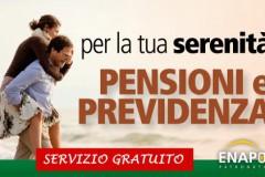 Banner pensioni e previdenza