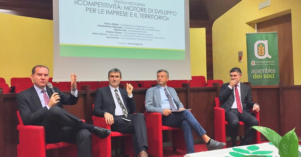 """""""Per la competitività del settore agricolo bisogna risolvere problemi ormai cronici"""""""