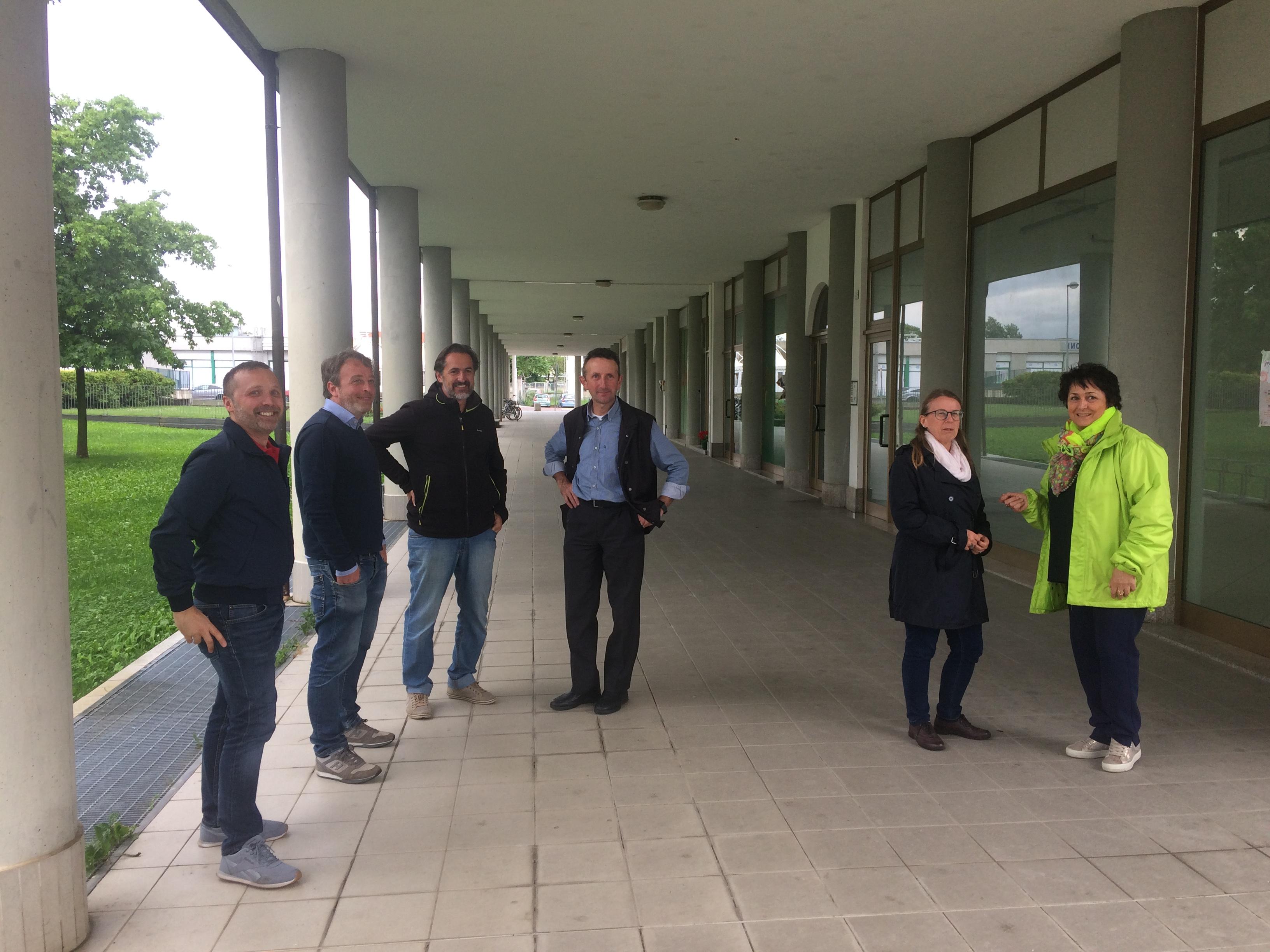 Il Comitato organizzatore del Mercato Contadino di Piazza Biancani a Cuneo
