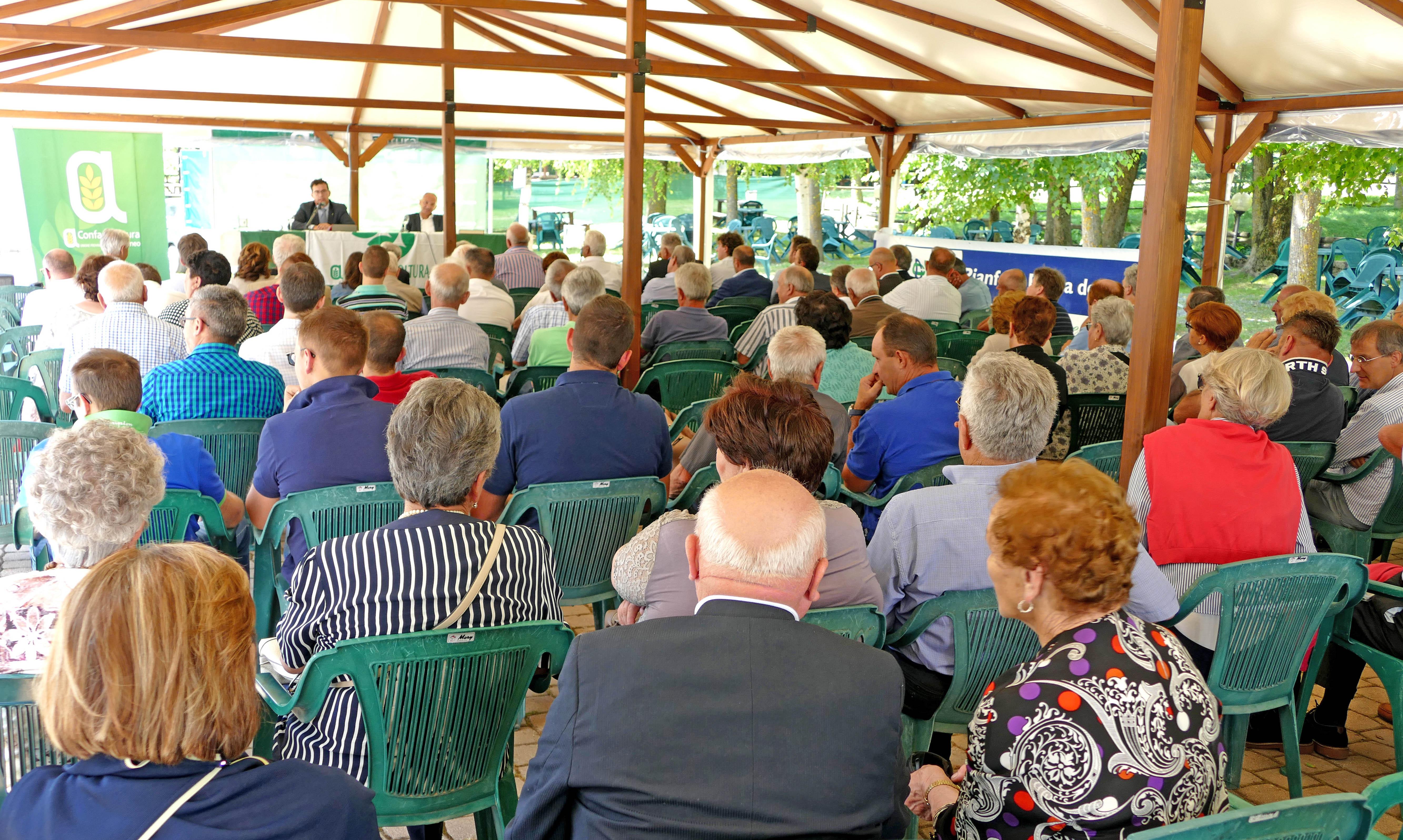 Una precedente assemblea di Confagricoltura Cuneo