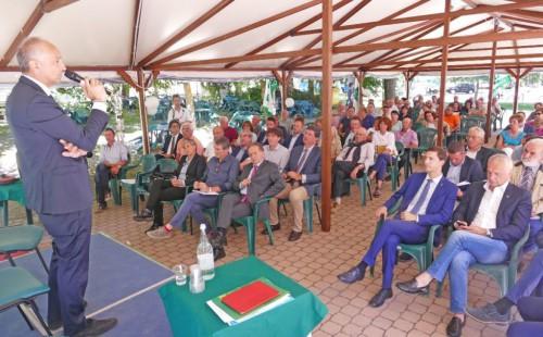 L'intervento del presidente Enrico Allasia all'Assemblea dei soci 2018
