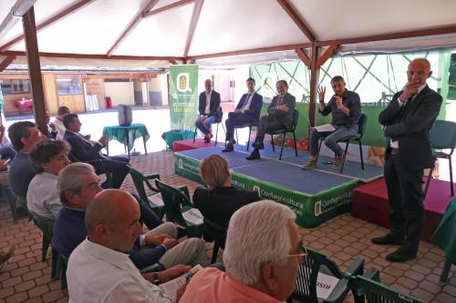Il dibattito con i parlamentari cuneesi all'Assemblea Confagricoltura Cuneo 2018