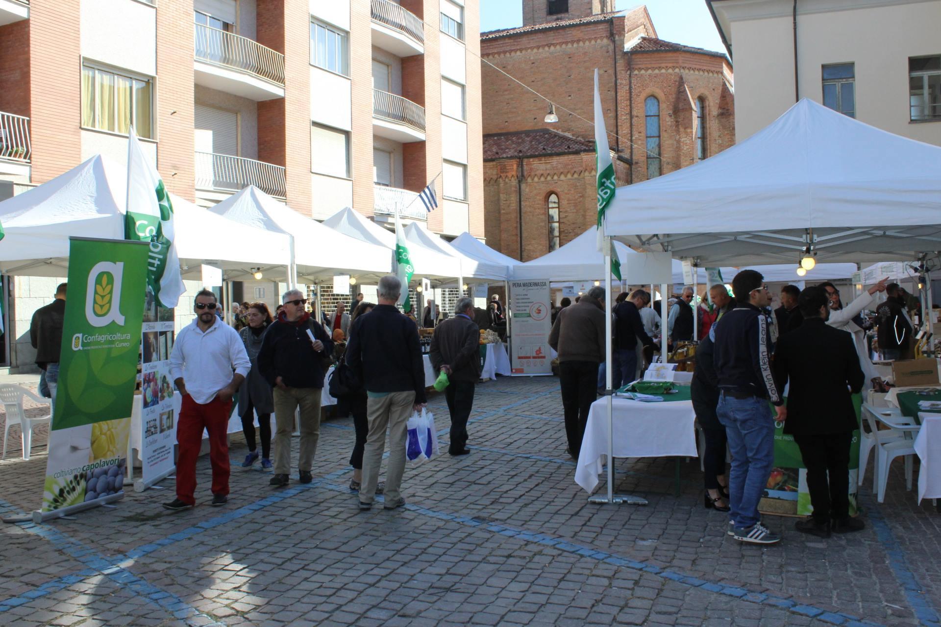 La Mostra Mercato di Confagricoltura ad Alba (ottobre 2017)