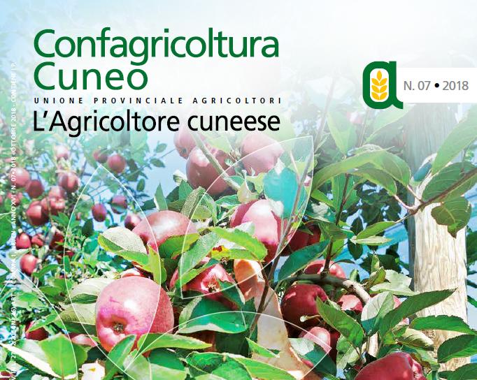 copertina agricoltore cuneese ottobre 2018