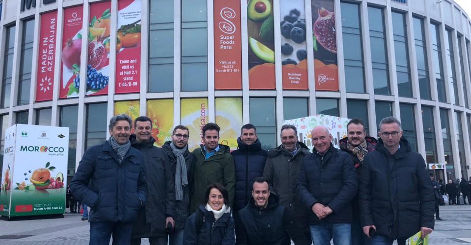 Aziende di Confagricoltura Cuneo al Fruit Logistica e all'Ambasciata a Berlino
