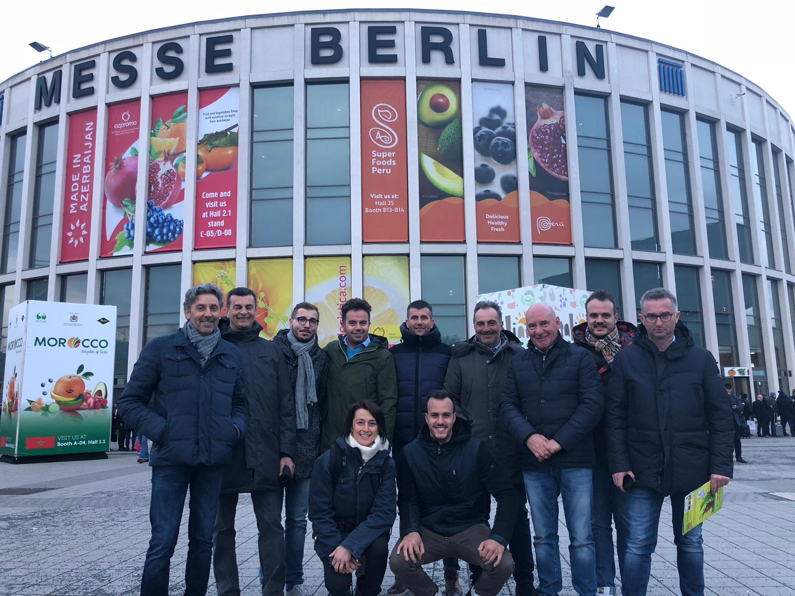 La delegazione di Confagricoltura Cuneo a Fruit Logistica 2019