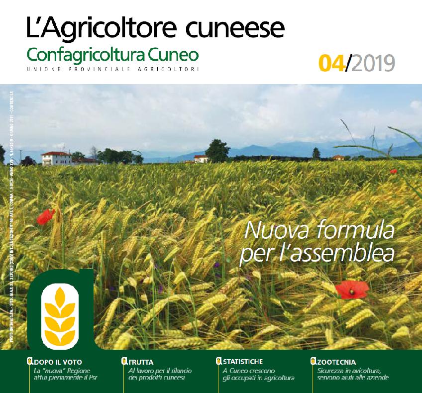 agricoltore cuneese copertina giugno 2019