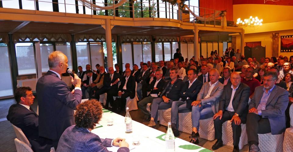 Confagricoltura Cuneo lancia la sfida di un Psr del Nord ai nuovi vertici della  Regione durante l'Assemblea dei Soci