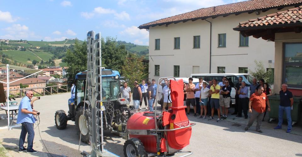 Workshop Innoseta: trattamenti fitosanitari accurati migliorano la qualità dell'uva e l'ambiente