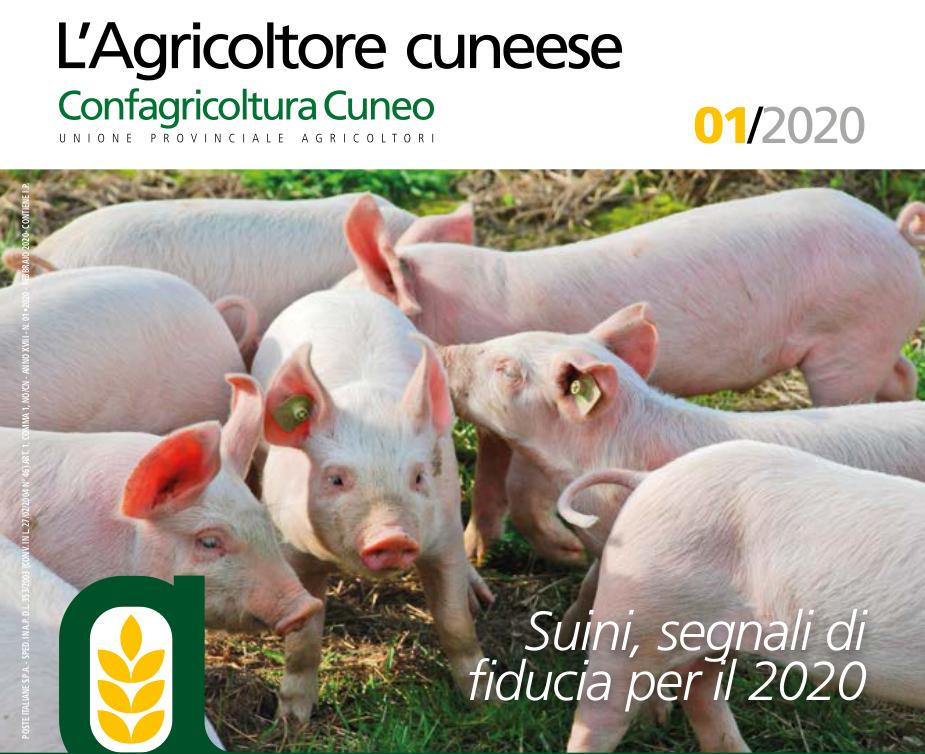 Copertina Agricoltore Cuneese febbraio 2020