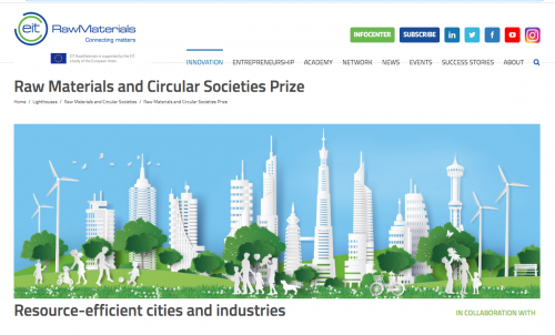 Premio Raw Materials and Circular Societies
