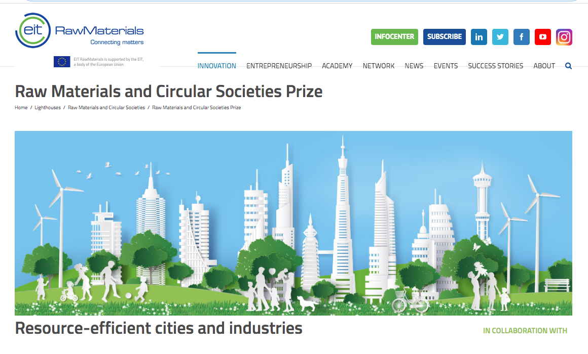 Premio Raw Materials and Circular Societies
