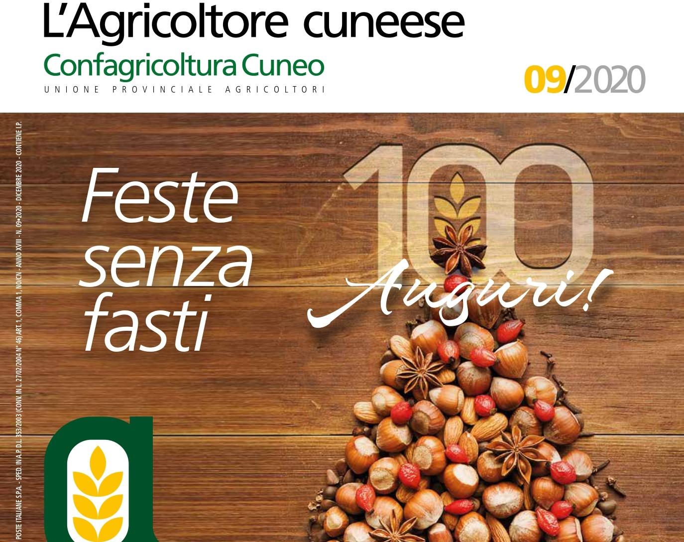copertina l'agricoltore cuneese dicembre 2020