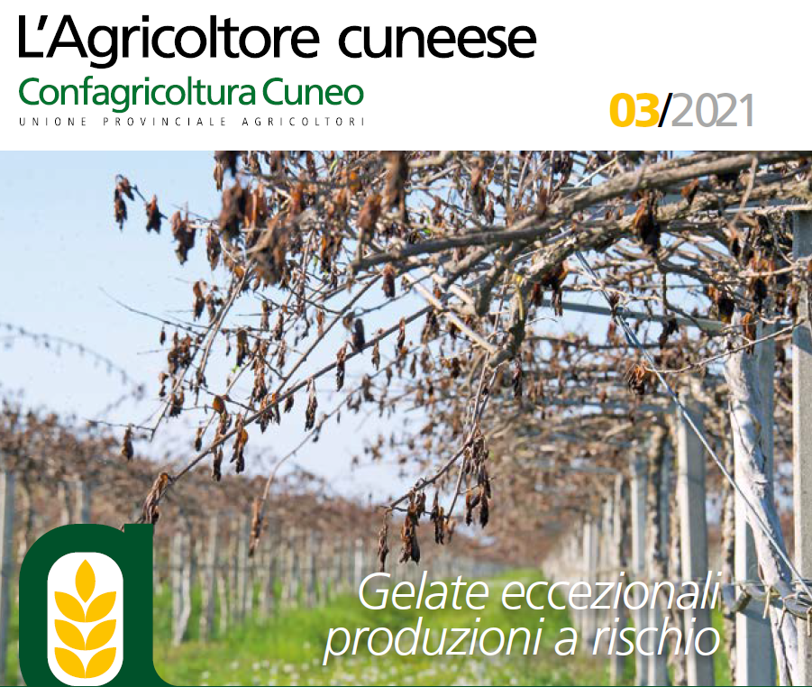 copertina agricoltore cuneese aprile